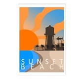 sunset_beach_travel2.png Postcards (Package of 8)