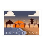 seal_beach_travel3.png Postcards (Package of 8)
