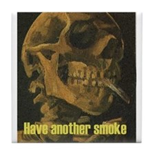 Anti Tobacco Apparel and Items Tile Coaster