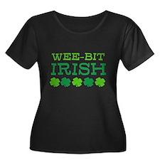 WEE-BIT Irish Plus Size T-Shirt