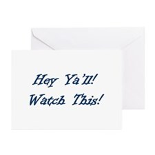 Cute Y'all Greeting Cards (Pk of 10)