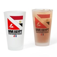 Dive Egypt Drinking Glass