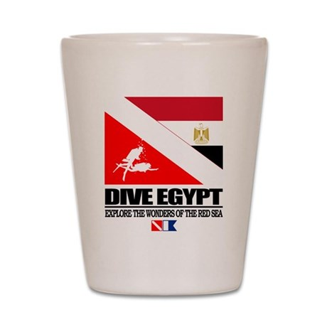 Dive Egypt Shot Glass