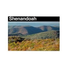 Shenandoah NP Rectangle Magnet