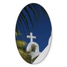 Tropical Church Decal