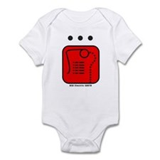 RED Electric EARTH Infant Bodysuit