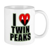 I Love Twin Peaks Small Mug