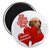"Golden retriever items 2.25"" Magnet (100 pack)"
