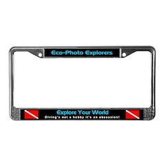 Scuba Diving, License Plate Frame, Auto