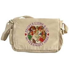 People Come & Go So Strangely Here Messenger Bag
