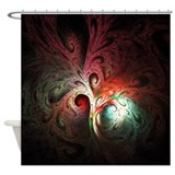 Fractal Tree Shower Curtain