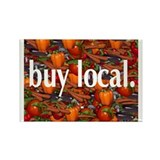 Buy Local. Rectangle Magnet (100 pack)