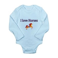 I love Horses Body Suit