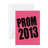 Prom 2013 Greeting Card