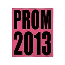 Prom 2013 Throw Blanket