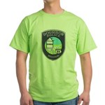 Bourbon Police Green T-Shirt