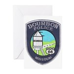 Bourbon Police Greeting Cards (Pk of 10)