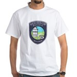 Bourbon Police White T-Shirt