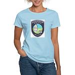 Bourbon Police Women's Pink T-Shirt