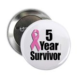 5 Year Survivor D1 Button