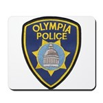 Olympia Police Mousepad