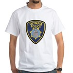 Olympia Police White T-Shirt