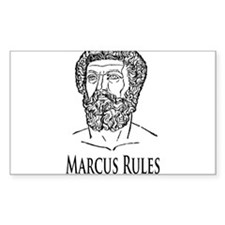 Marcus Rules the Sick Republic Decal