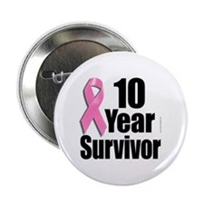 10 Year Survivor D1 Button