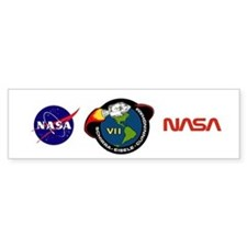 Apollo 7 Mission Patch Bumper Sticker