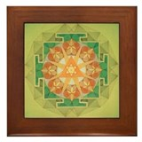 Unique Indian art Framed Tile