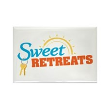 Sweet Retreats Rectangle Magnet