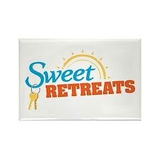 Sweet Retreats Rectangle Magnet