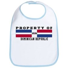 Property Of Dominican Republic Bib