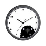 Eating Crow Wall Clock