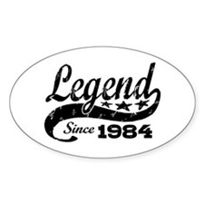 Legend Since 1984 Decal
