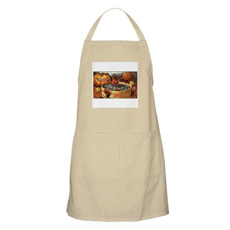 Halloween Apples BBQ Apron