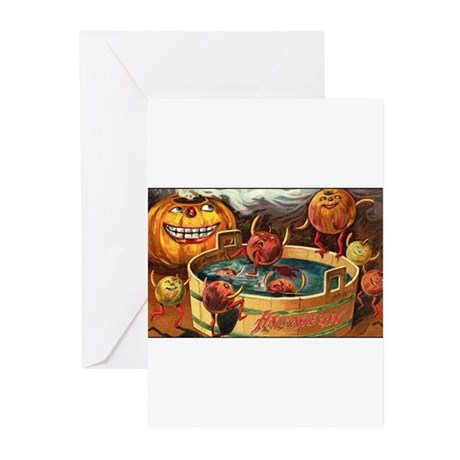 Halloween Apples Greeting Cards (Pk of 10)