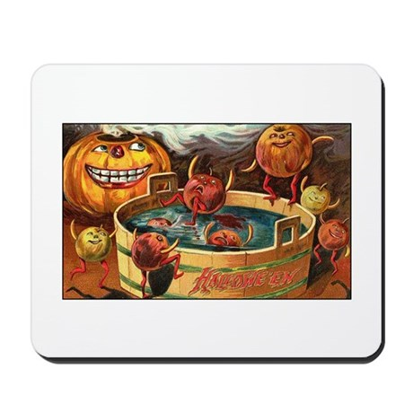 Halloween Apples Mousepad