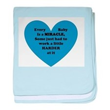 Miracle Baby baby blanket