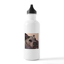 White London Water Bottle