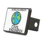 Worlds Greatest Civil Engineer Hitch Cover