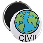 Worlds Greatest Civil Engineer Magnet