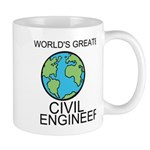 Worlds Greatest Civil Engineer Mug