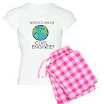 Worlds Greatest Civil Engineer Pajamas