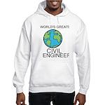 Worlds Greatest Civil Engineer Hoodie