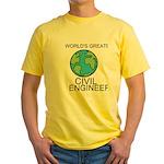 Worlds Greatest Civil Engineer T-Shirt