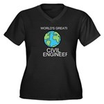 Worlds Greatest Civil Engineer Plus Size T-Shirt