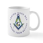 Freemasons - Taking good men Mug