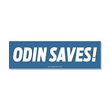 Odin Saves! Car Magnet 10 x 3