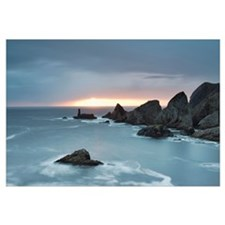 Coastline At Sunset; County Donegal, Ireland